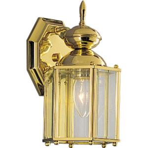 BrassGUARD Lantern - 10.25 Inch Height - Outdoor Light - 1 Light - Line Voltage - Wet Rated