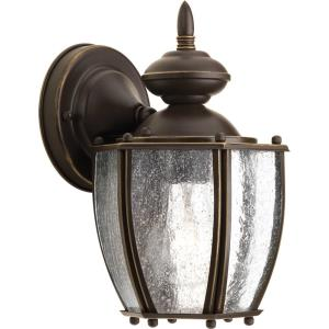 Roman Coach - 9.75 Inch Height - Outdoor Light - 1 Light - Curved Panels Shade - Line Voltage - Wet Rated