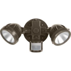 12.75 Inch 53.2W 2 LED Outdoor Flood Light with Motion Sensor