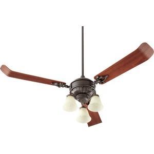 Brewster - Three Light Ceiling Fan Kit
