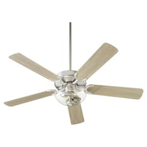 Virtue - 52 Inch 5 Blade Ceiling Fan with Bowl Light Kit