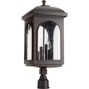 Fuller - Four Light Outdoor Post Lantern