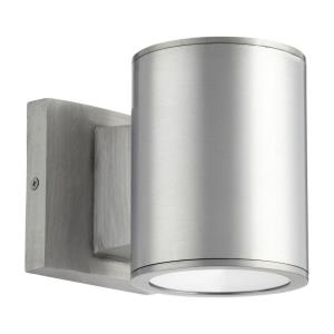 Cylinder - 4.38 Inch 12W 2 LED Outdoor Wall Lantern