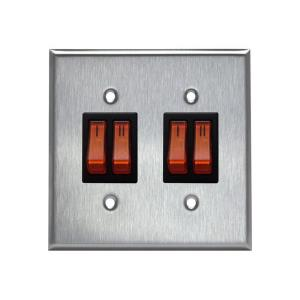 Accessory - Double Switch Plate Assembly for 2 Stage Patio Heaters