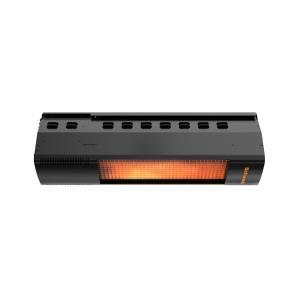 """BistroSchwank - 44"""" 2-Stage 50000/36000 Btu Natural Gas Overhead Outdoor Patio Heater"""