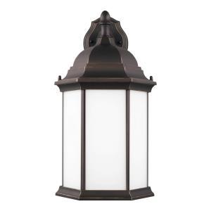 Sevier - 1 Light Large Outdoor Downlight Wall Lantern