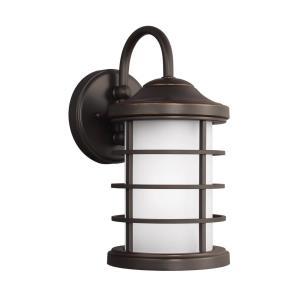 Sauganash - 12.25 inch 9.3W 1 LED Small Outdoor Wall Lantern