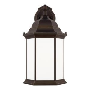 Sevier - 1 Light Extra Large Outdoor Downlight Wall Lantern