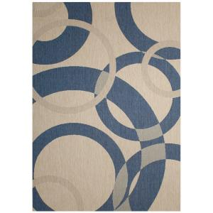 "Champagne - 88x63"" Outdoor Rug"
