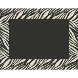 """88"""" Zebra Outdoor Rug"""