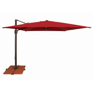 Bali Pro - 10' Square Starlight Cantilever with Cross Base