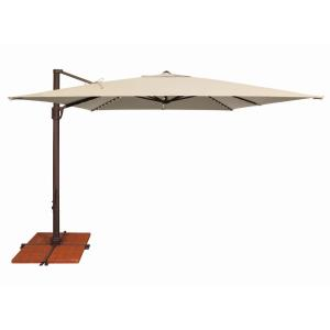 Bali Pro - 10 Foot Square Starlight Cantilever with Cross Base