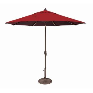 Lanai Pro - 9' Octagon Starlight Umbrella with Auto Tilt
