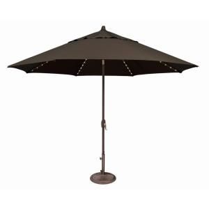 Lanai Pro - 11' Octagon Starlight Umbrella with Auto Tilt