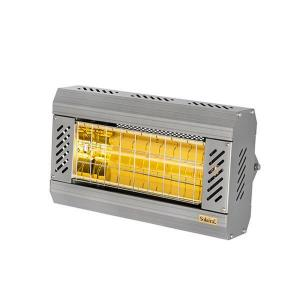 ICR Series 2000W 240V Electric Radiant Infrared Heater - Silver