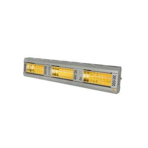 ICR Series 4500W 240V Electric Radiant Infrared Heater -Silver