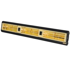 Alpha Series 6000W Electric Radiant Infrared Heater - Black