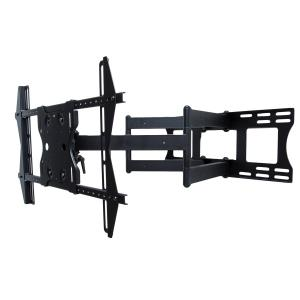 "Dual Arm Articulating Wall Mount with tilt, swivel and pan for 49"" - 80"" Outdoor TVs"