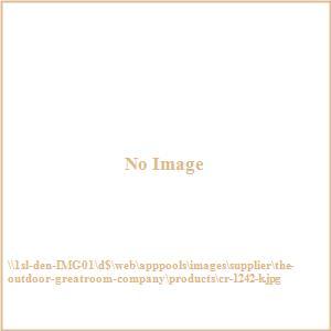 """Cedar - 61"""" Ridge Linear Gas Fire Pit Table"""