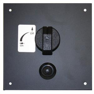 """6.5"""" X 6.5"""" Do-It-Yourself Control Panel with Gas Valve"""