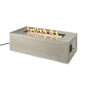 """Cove - 60"""" Linear Gas Fire Pit Table"""