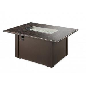"""Grandstone - 48"""" Rectangular Gas Fire Pit Table"""