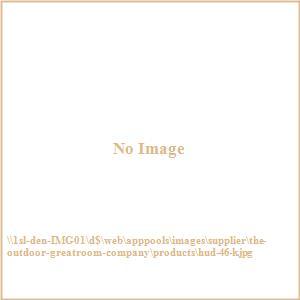 "Hudson - 46"" Round Stone Gas Fire Pit Kit"