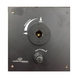 """6.5"""" X 6.5"""" Control Panel with 1/4 Turn Key Valve Built In"""