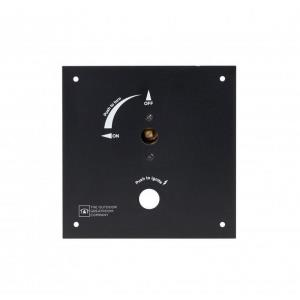 """6.5"""" X 6.5"""" Control Panel with 3/8 Turn Key Built In Valve"""