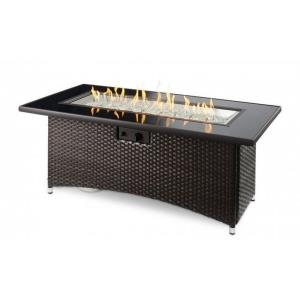 """Montego - 59.75"""" Linear Gas Fire Pit Table"""