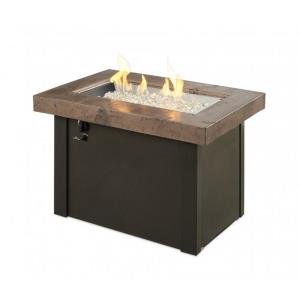 """Providence - 36"""" Rectangular Gas Fire Pit Table"""