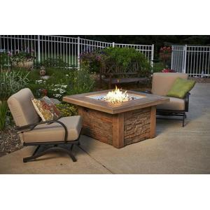 """Sierra - 43.5"""" Square Gas Fire Pit Table"""