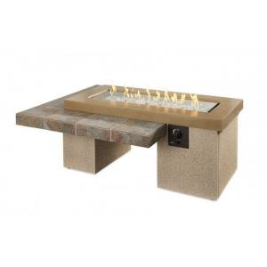 """Uptown - 64.5"""" Linear Gas Fire Pit Table"""