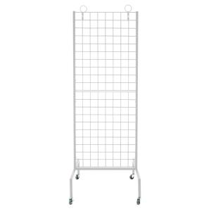 "60"" Rolling Grid Wall Rack (Set Of 1)"