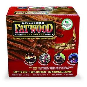 10 Inch Fatwood in Color Carton