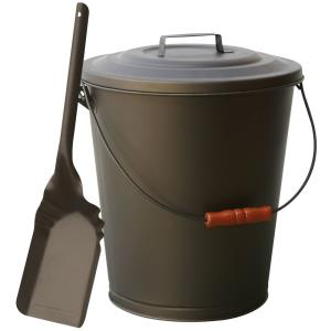 Ash Bin with Lid And Shovel