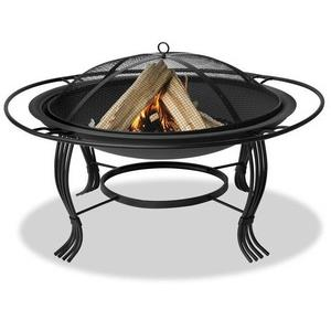 "Uniflame - 34"" Outdoor Wood Burning Fireplace"