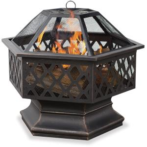 "Endless Summer - 24"" Outdoor Wood Burning Fireplace"