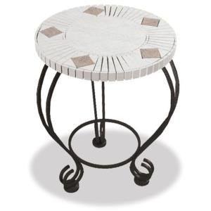 18 Inch Mosaic Tile Table