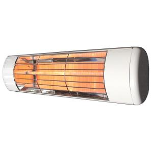 """19"""" 1500W Single Cassette Low Volt Outdoor Infrared Heater with Gold Lamp"""