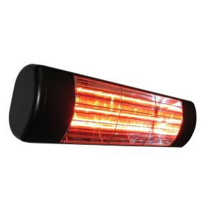 "19"" 1500W Single Cassette Outdoor Infrared Heater with Gold Lamp"