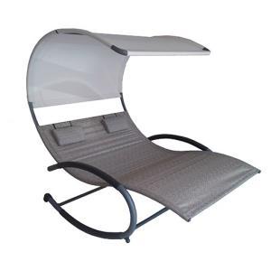 Double Chaise Rocker - Steel