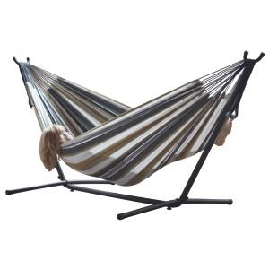 Vivere - Double Hammock Combo with 9 Foot Stand