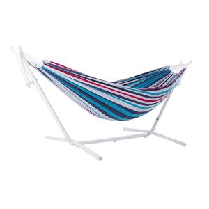 Viveres Combo - Double Hammock with White Stand